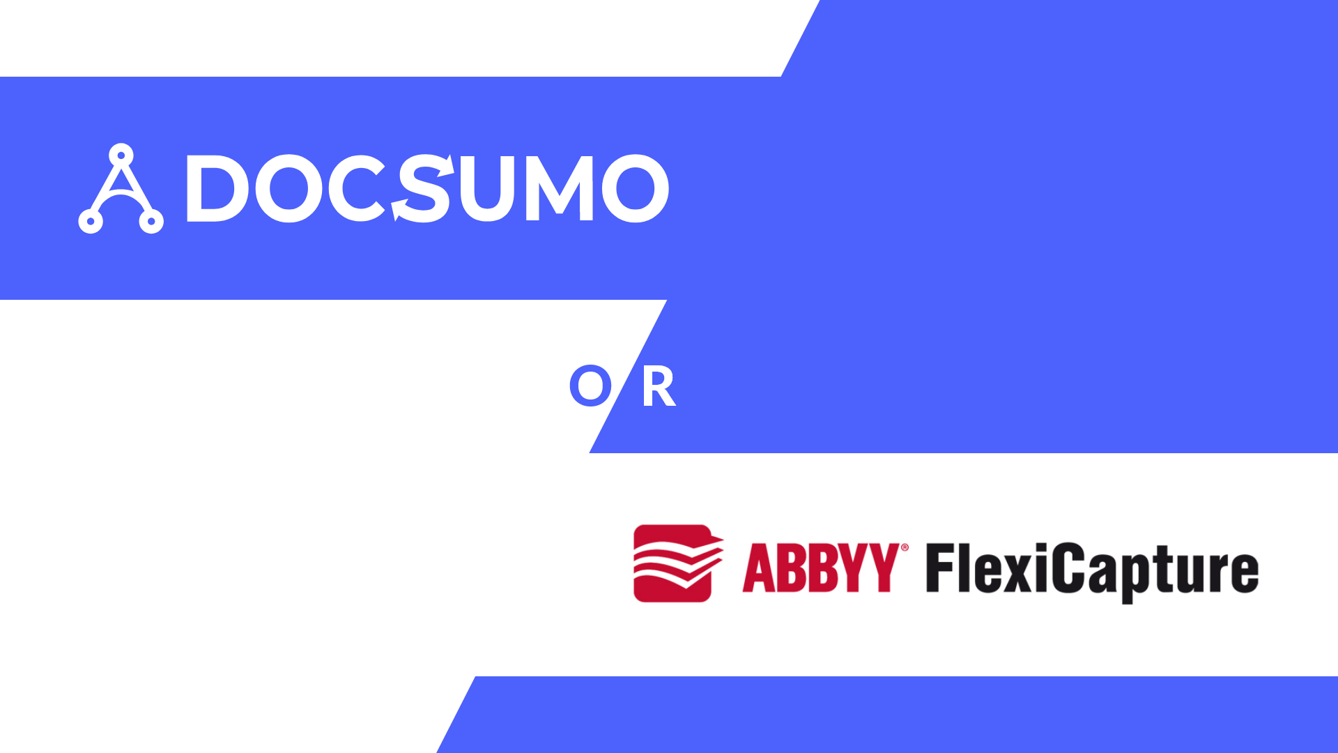 How good Docsumo is as an alternative to Abbyy Flexicapture
