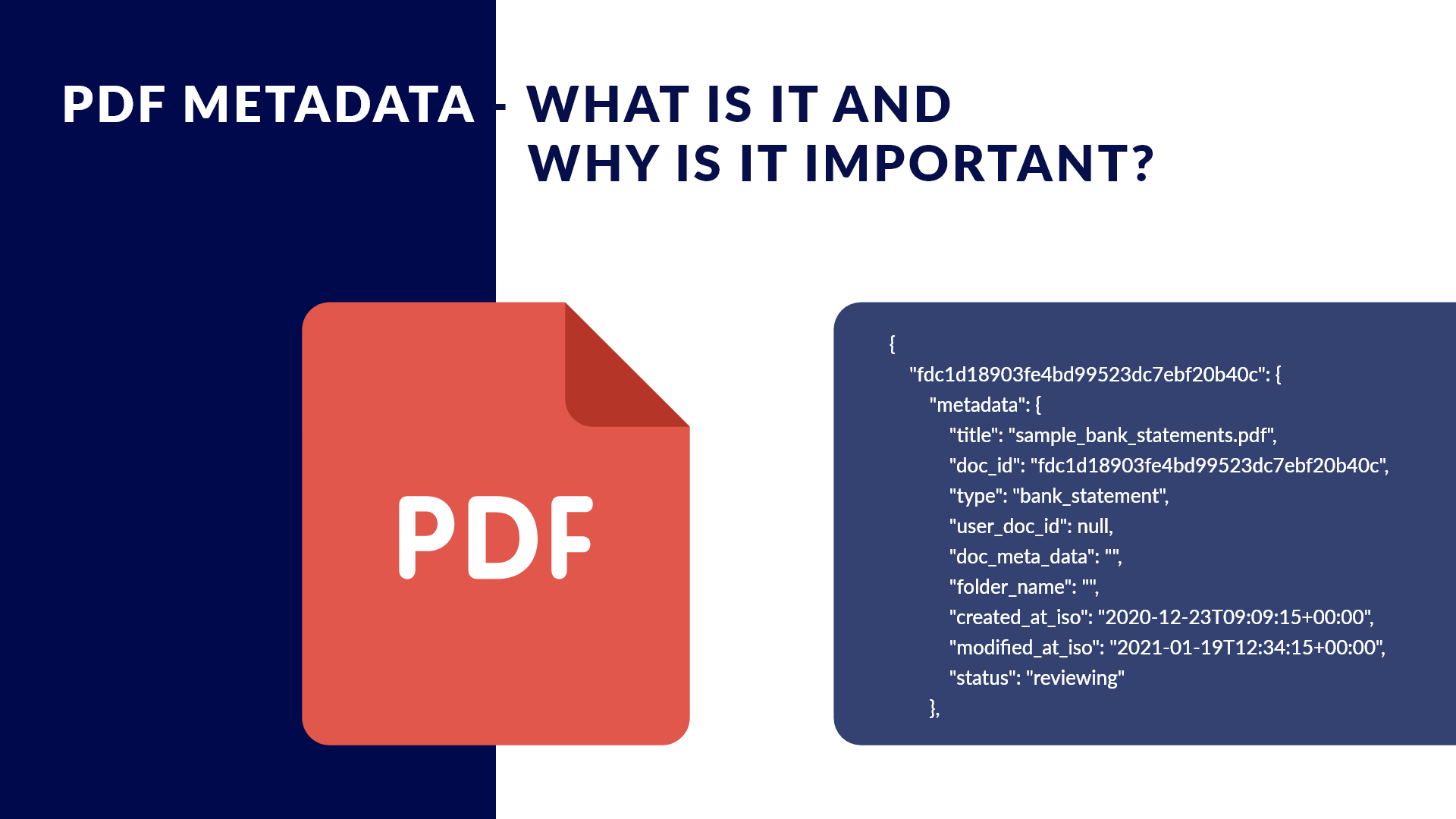 A Quick Introduction to PDF Metadata, its Benefits, and Extraction