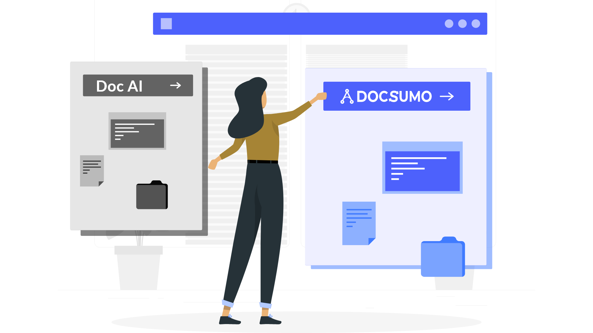 What makes Docsumo a fitting alternative to Doc AI by Google?