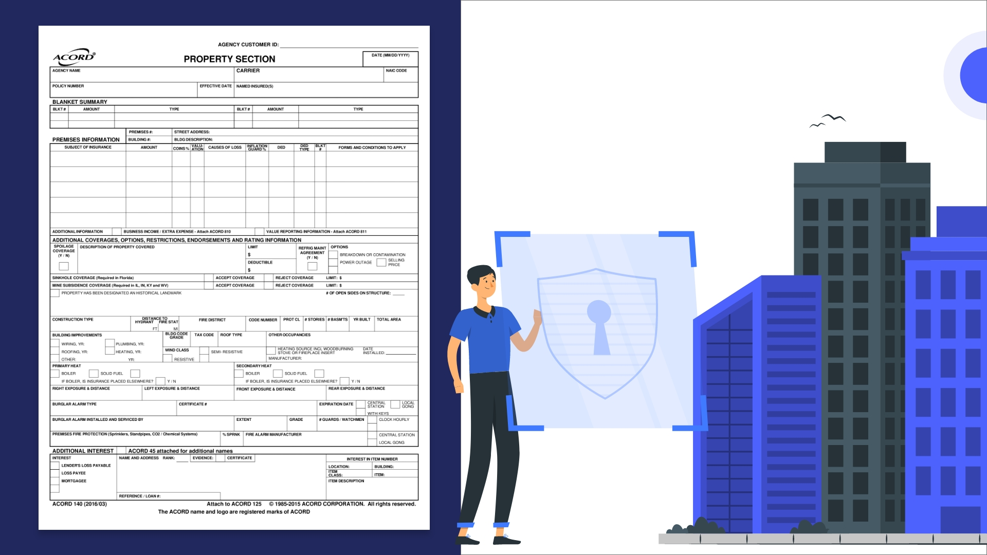 How to Process Acord 140 Forms with Automated Data Extraction