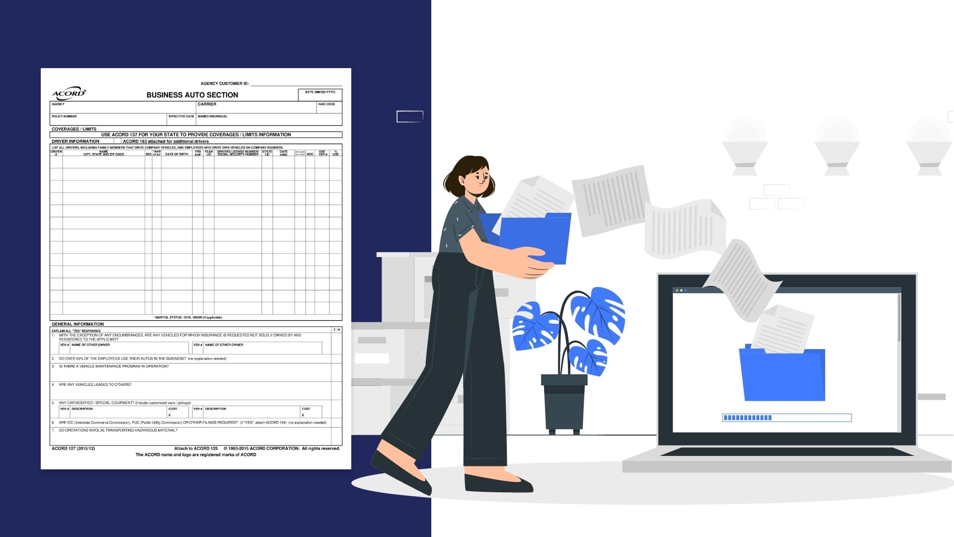 Guide to ACORD form 127 Processing and Automation