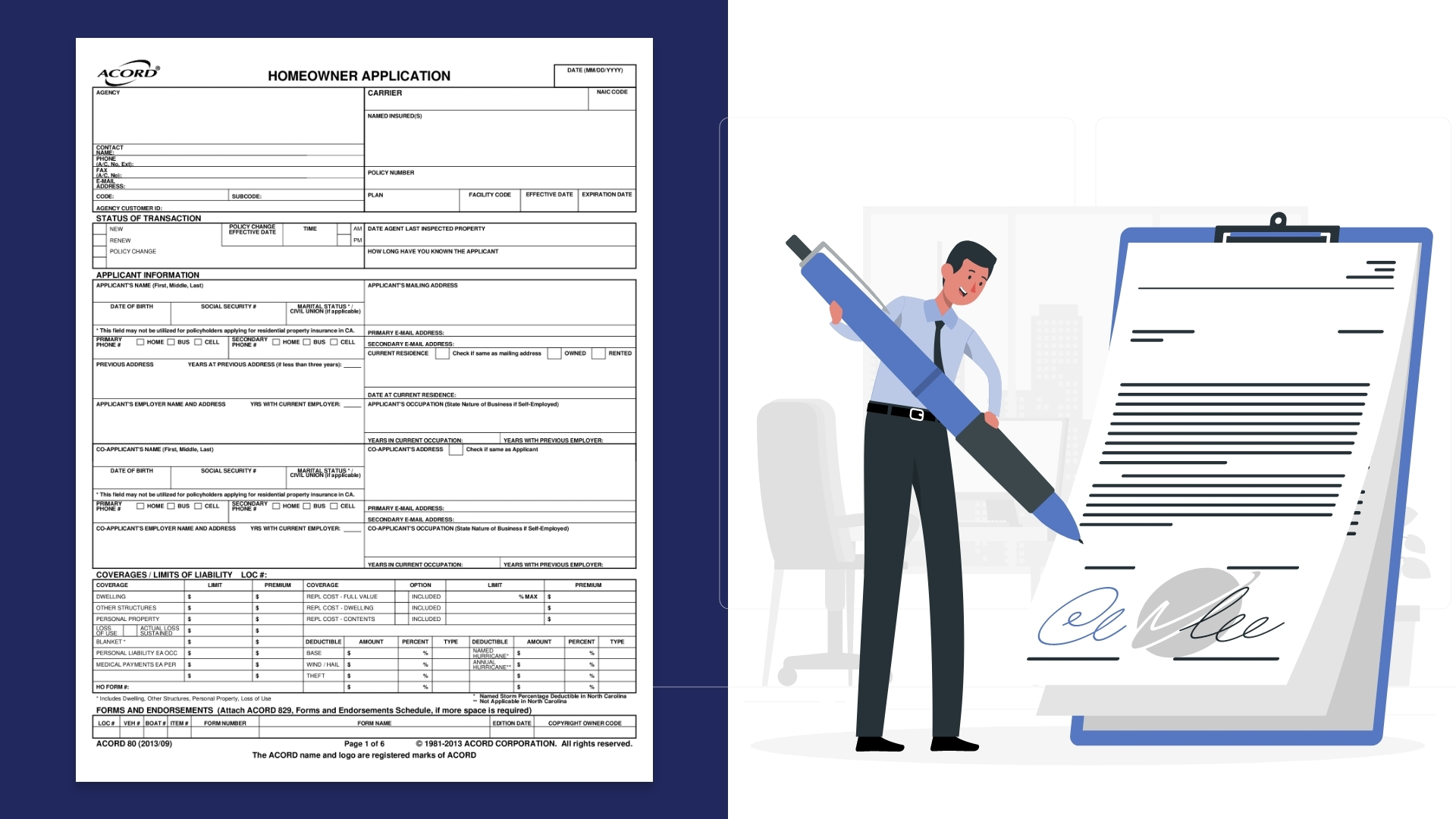 Significance and Importance of Acord Form 80 Automation