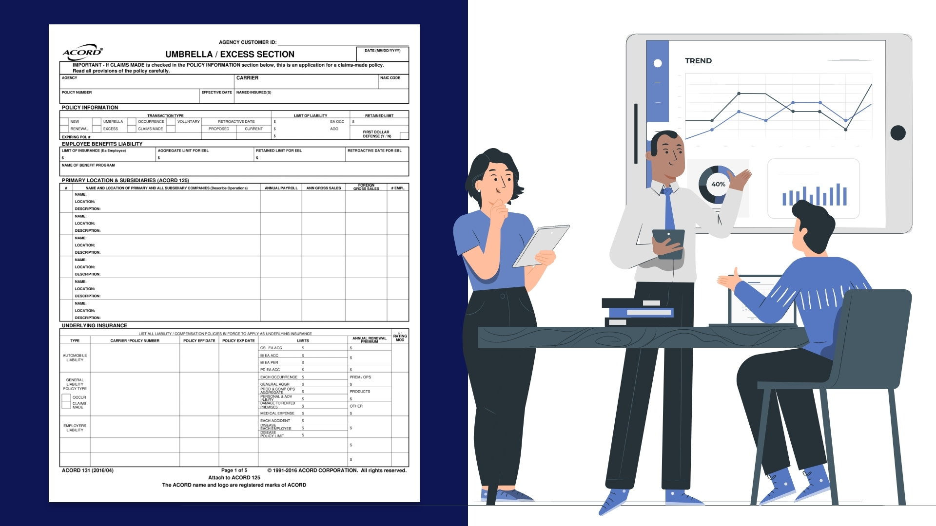Definition and Benefits of Acord 131 : Steps to Automate Acord Form 131