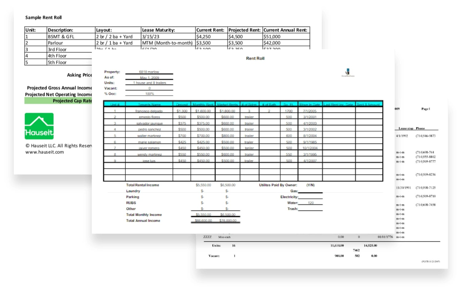 Automated Rent Roll Processing