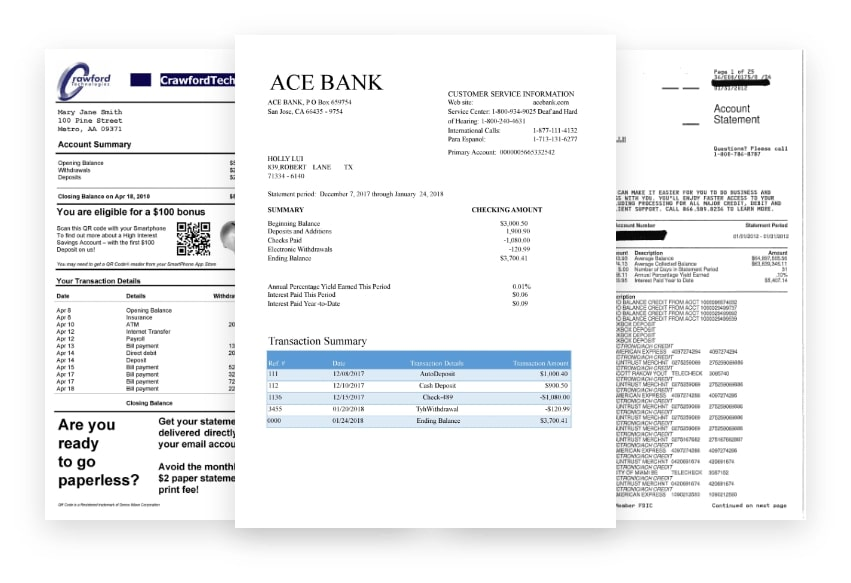 Docsumo is one of the most efficient and best-performing software for bank statements data capture. Let's take a look at how Docsumo can be used for extracting structured data from bank statements in a matter of Seconds.