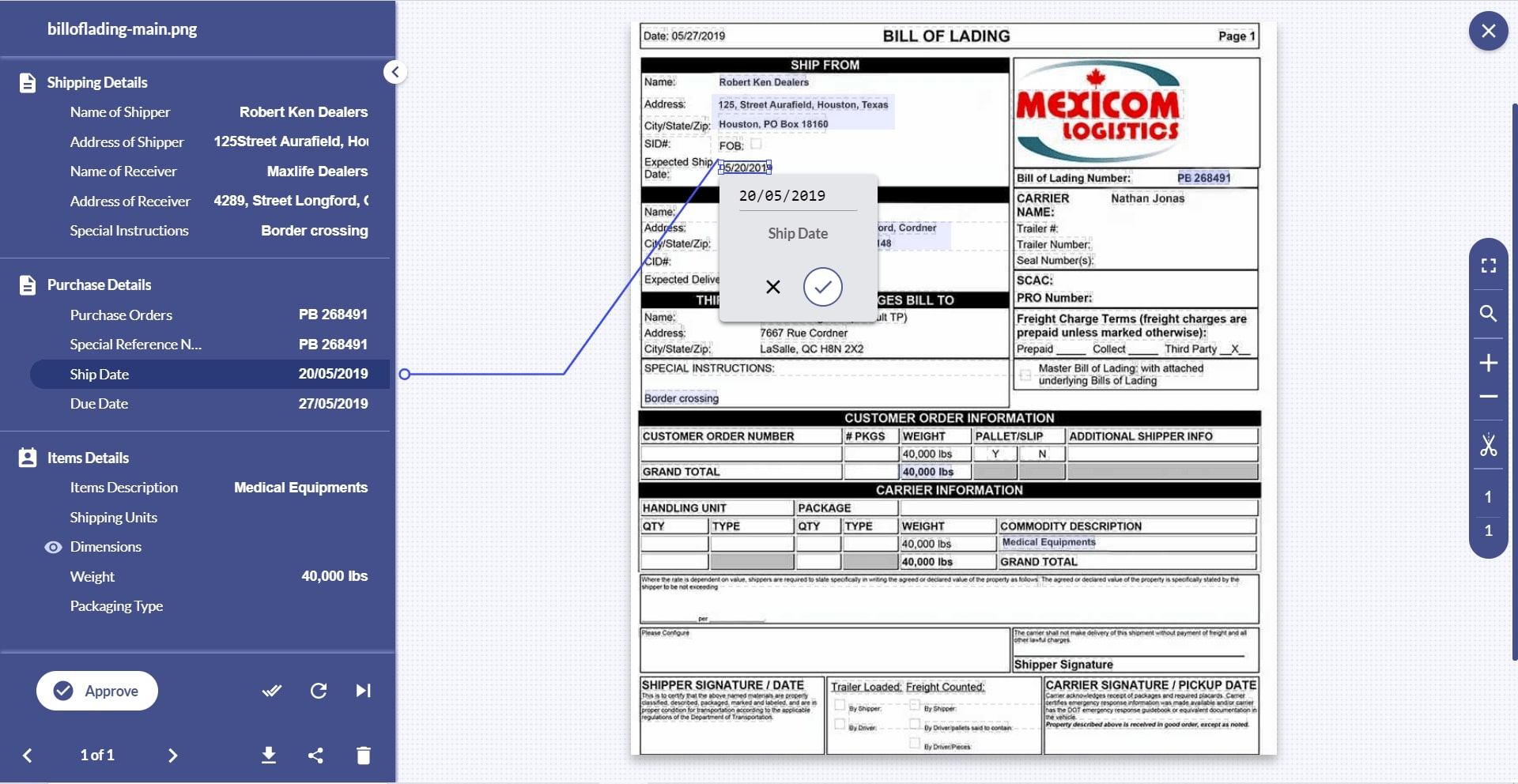 With Docsumo, free up your essential resources by automating logistics document processing with 98% accuracy.