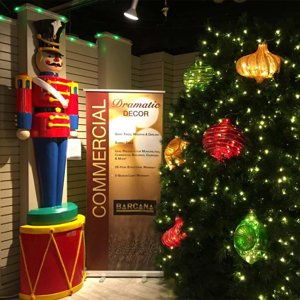 Holiday decor in North Dallas