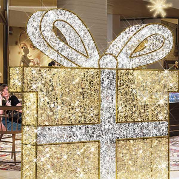 3D Light Gift Box