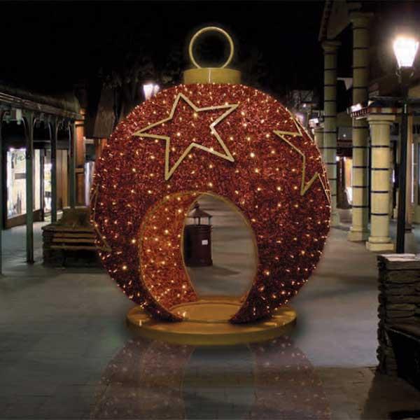 3D walk-thru ornament