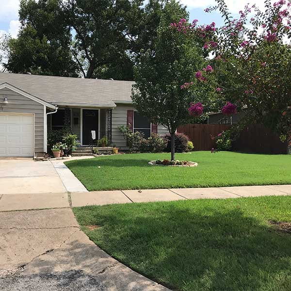 Lawn project by Higher Ground Lawn Care and Lighting in Grand Prairie, TX