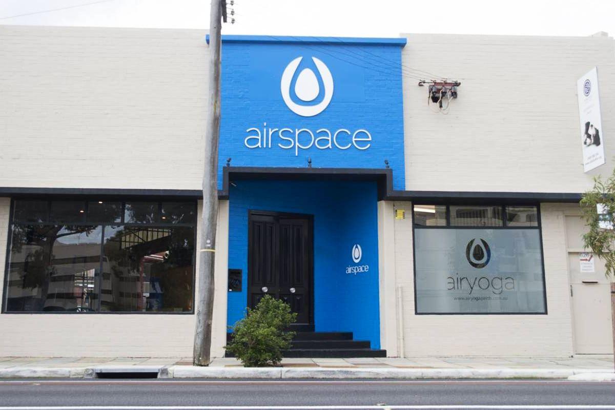 Airspace front door and entryway