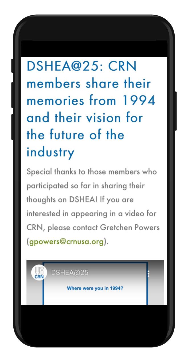 CRN 25th Anniversary Mobile Image