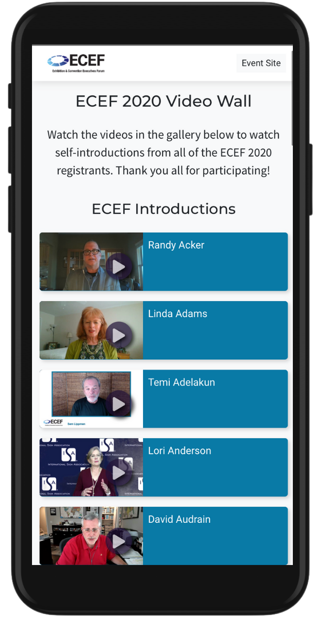 ECEF Mobile Picture