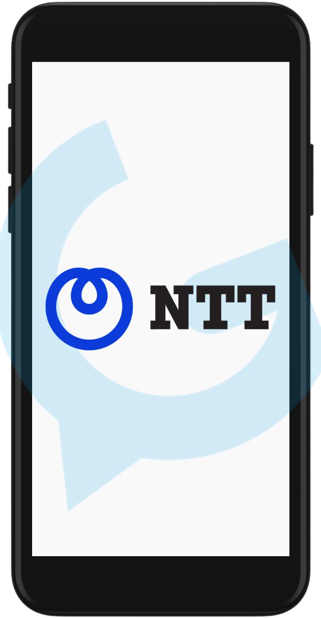 NTT iPhone Logo