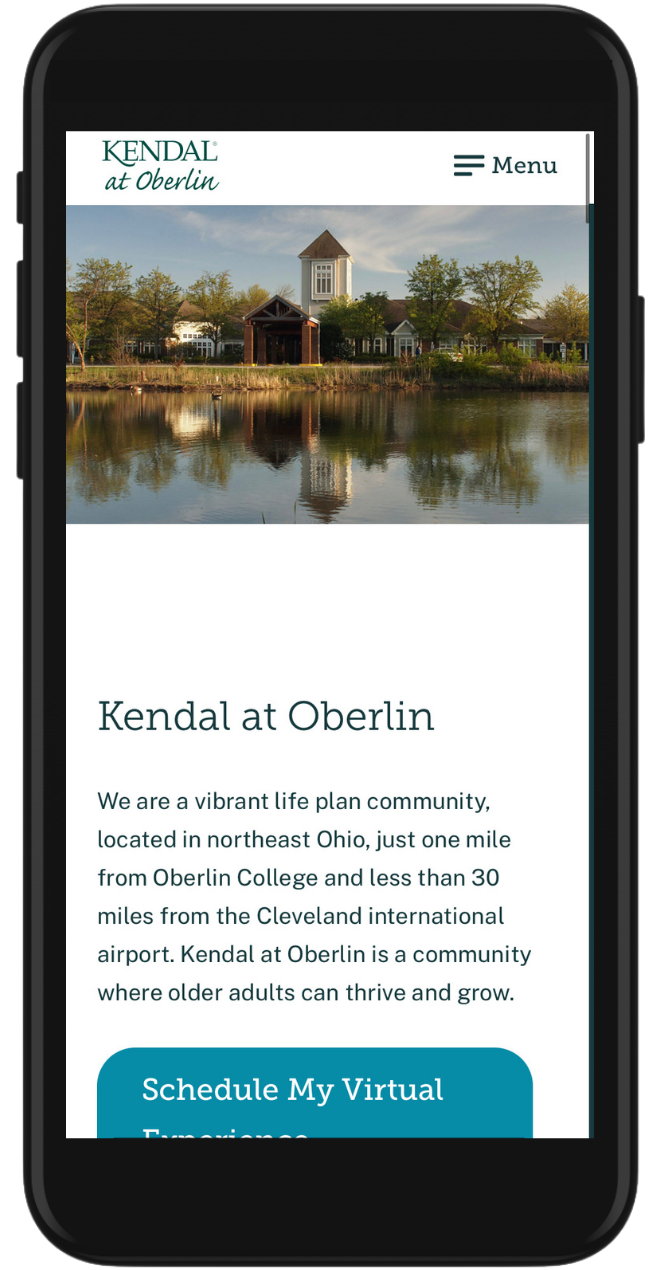 Kendal at Oberlin Mobile Image
