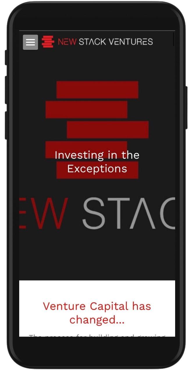 New Stack Ventures iPhone Image