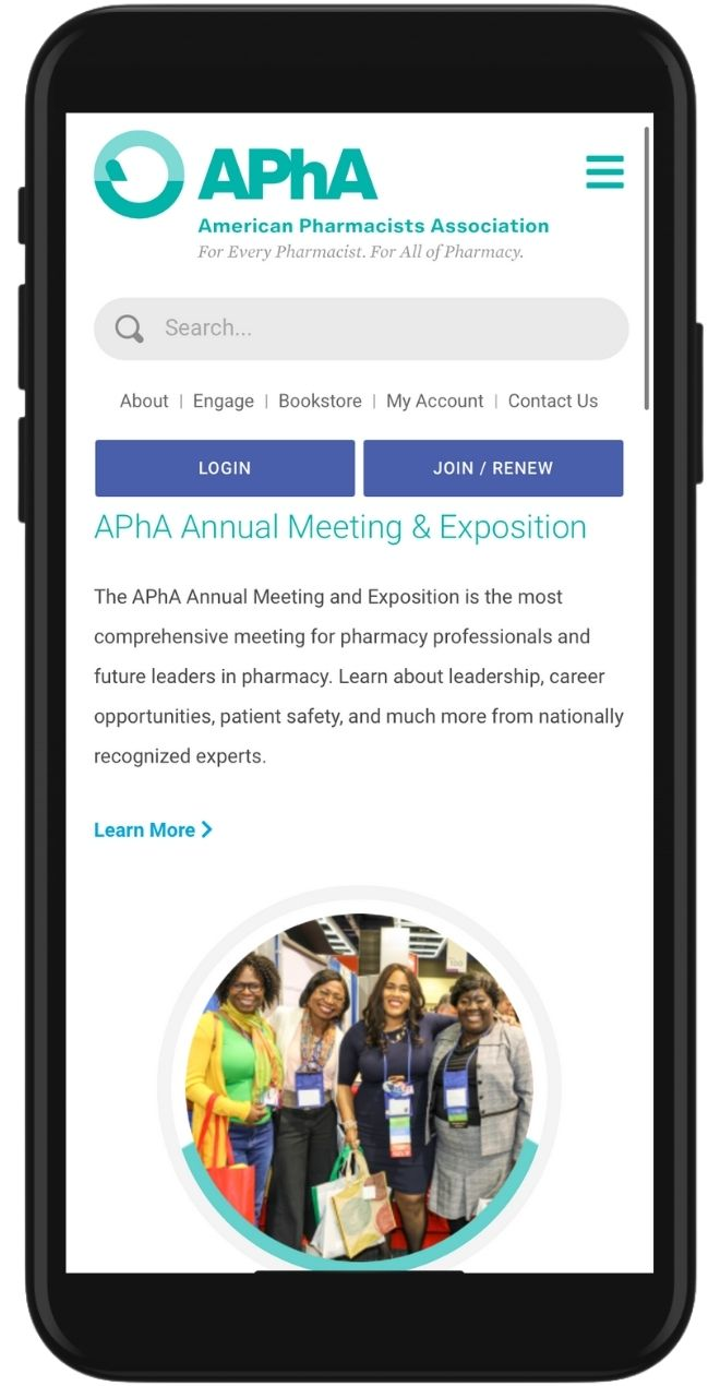iPhone Image of APhA's Annual Event