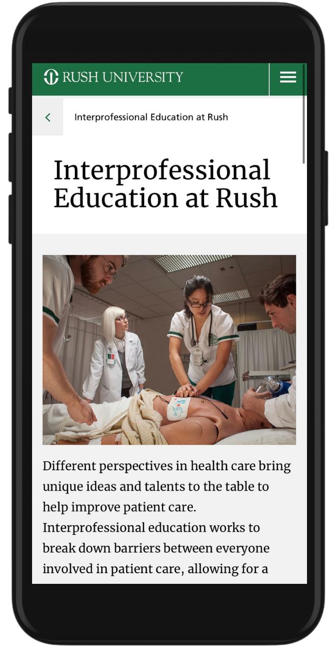 Rush iPhone Image