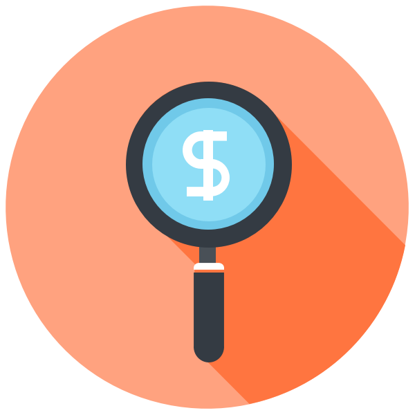 Finding Revenue Icon