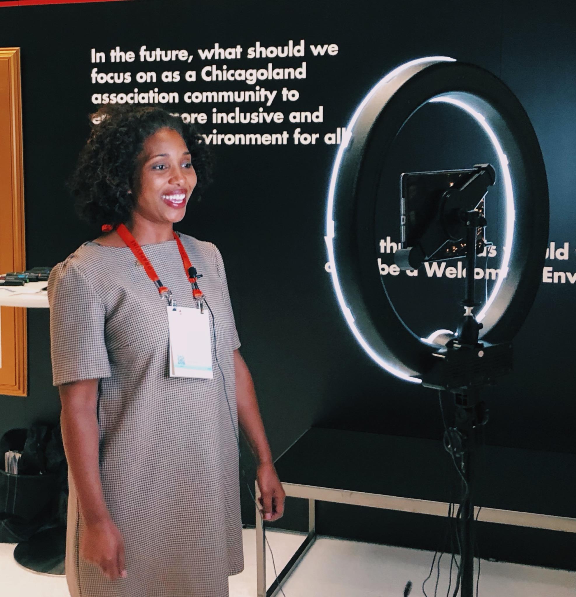 The Gather Voices Video Kiosk