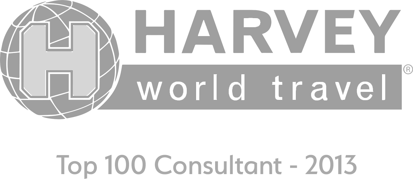 Harvey World Travel - Top 100 Consultant - 2013