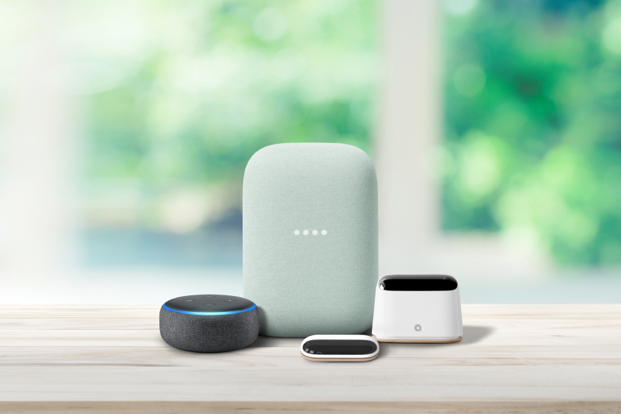 Ambi Climate integrates with most smart speakers