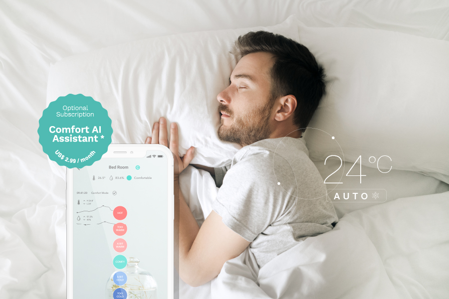 Comfort AI Assistant while sleeping