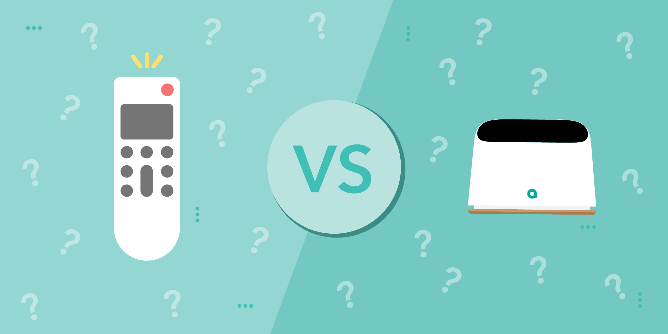 Your Regular AC Remote vs. Ambi Climate