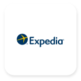 Expedia is an online travel agency that provides hotel reservations, airline tickets, and vacation packages, with the power to bring the world within reach for millions of people. As one of the world's leading full-service online travel brands, Expedia helps travelers easily plan and book travel from the widest selection of vacation packages, flights, hotels, rental cars, rail, cruises, activities, attractions, and services.