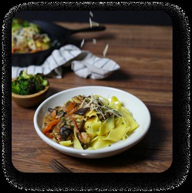 photo of noodle dish