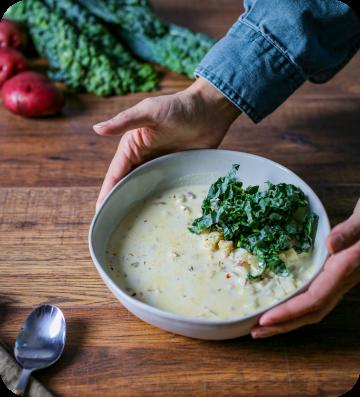 Eat Purely potato soup