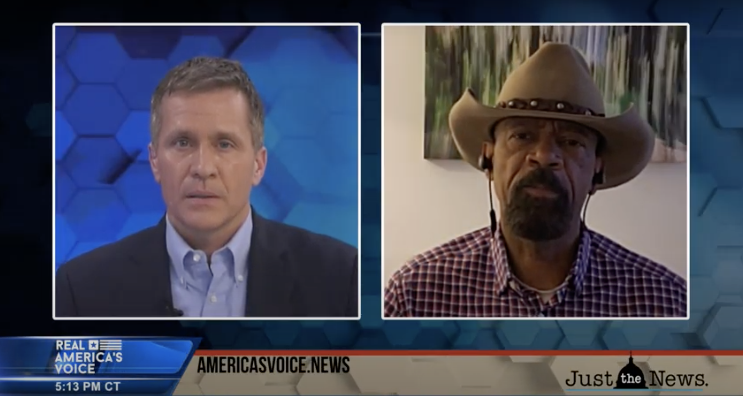 Guest: Sheriff David Clark, Former Milwaukee County Sheriff & Jack Brewer, Black Voices for Trump