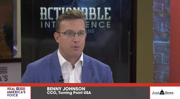Benny Johnson: Do you think the side that marches during the day or the night is most peaceful?
