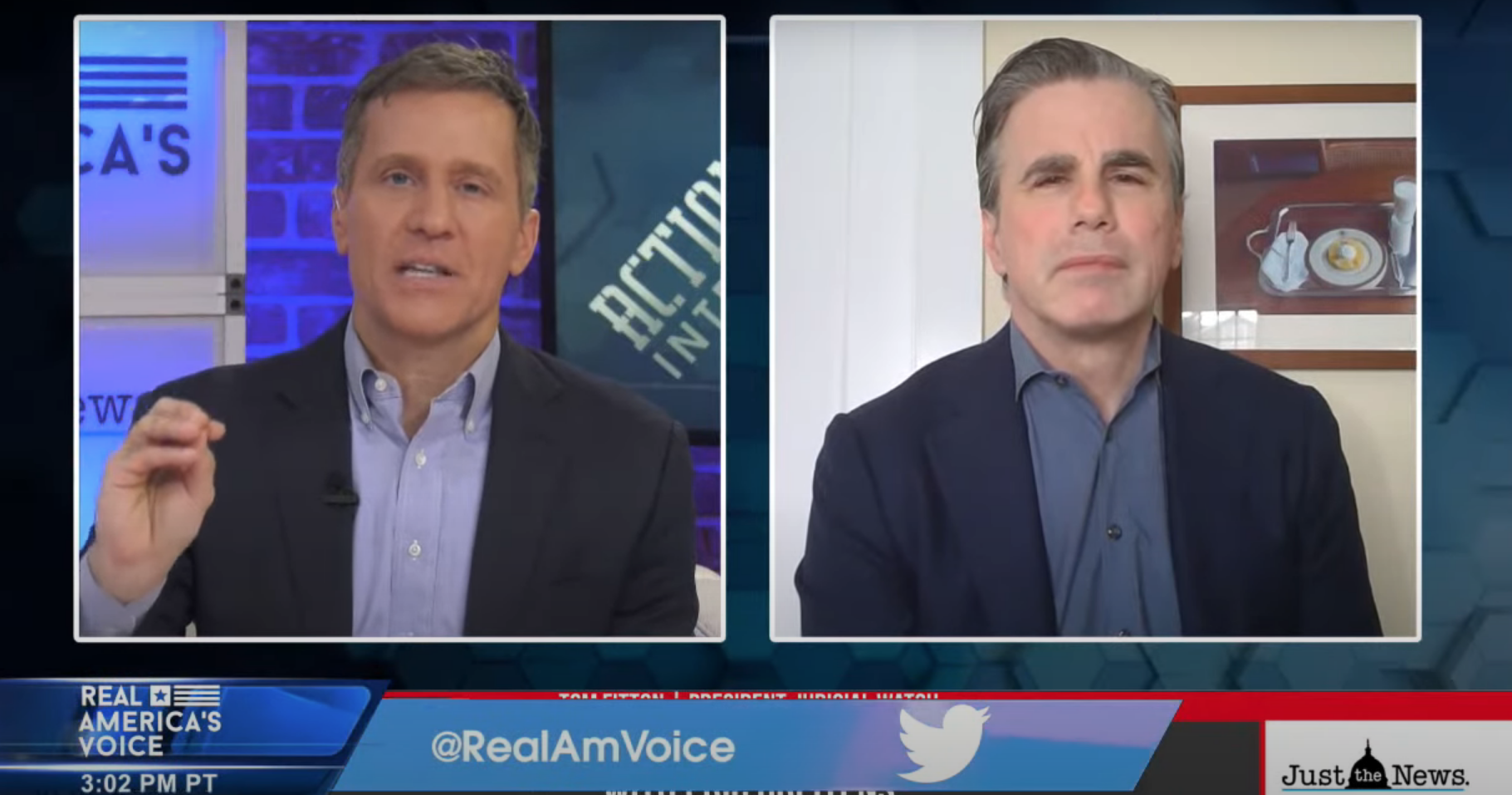 "GUEST: Tom Fitton, President of Judicial Watch & Ned Ryun, Author of ""Restoring Our Republic"""