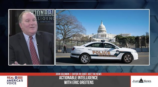 BREAKING: John Solomon says DC police keeping interviews with key capitol security officials secret