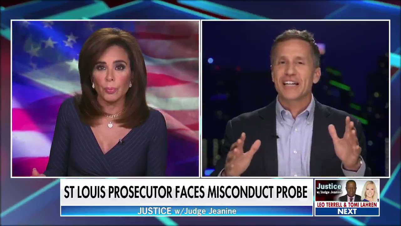 Eric Greitens on Judge Jeanine: The Soros-funded DA empire across America could be crumbling.
