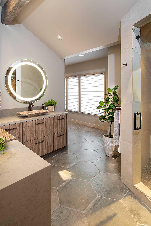 Natural Sleek Bathroom Design