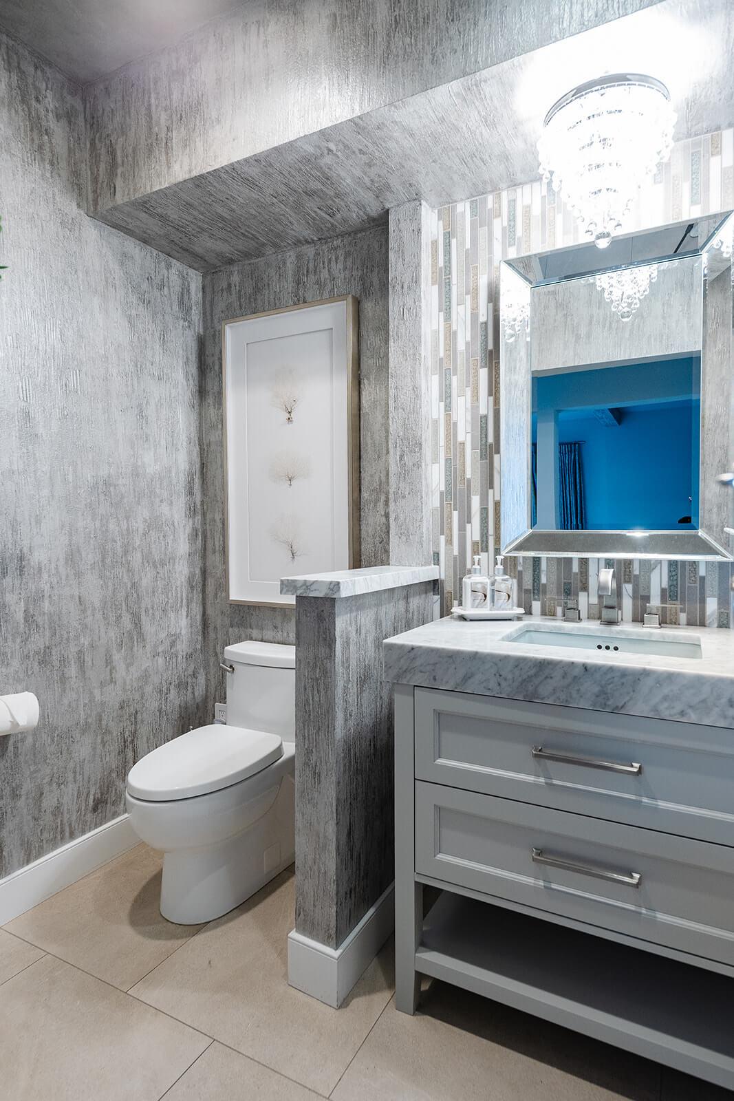 Custom Powder Bathroom