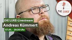 Andreas Kümmert im LUKE Livestream