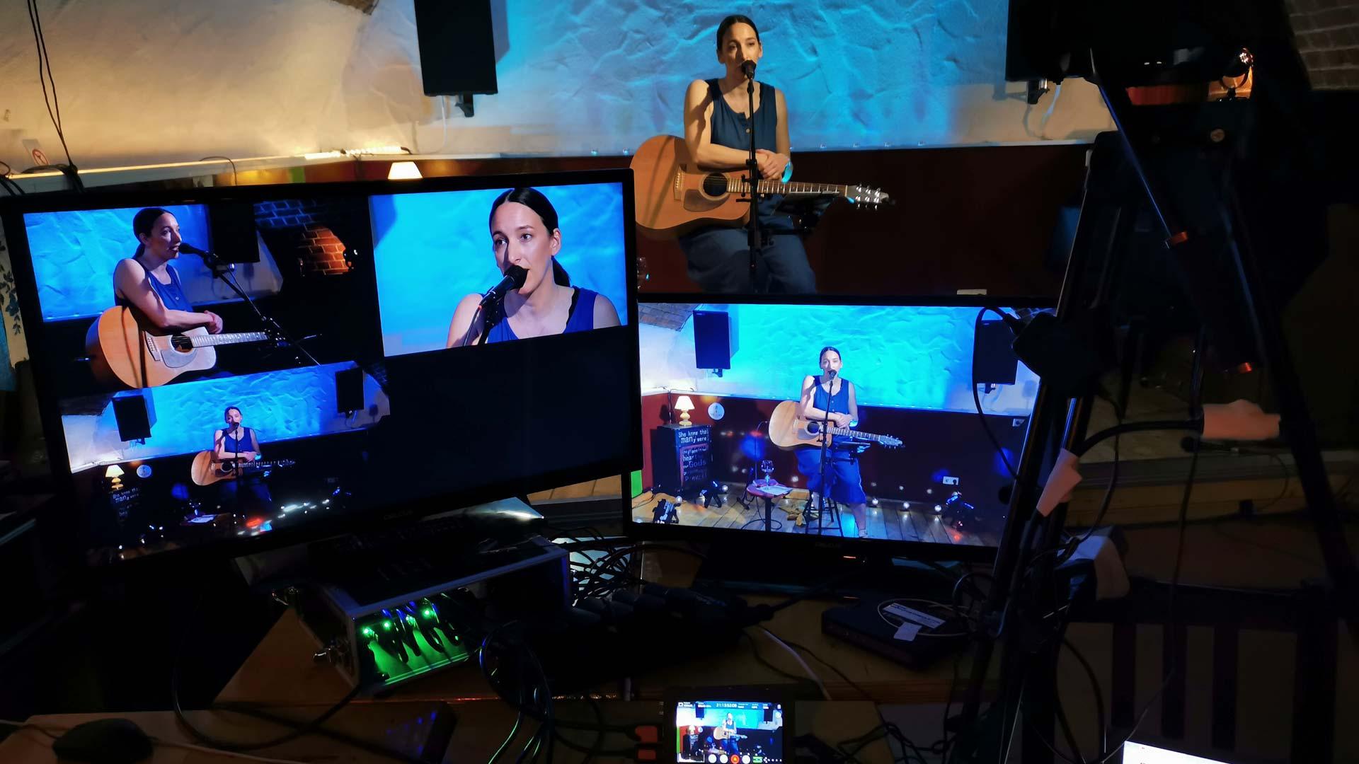 Das LUKE Livestream Setup