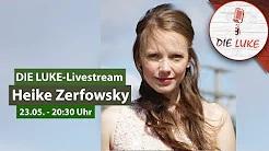 Heike Zerfowsky im LUKE Livestream