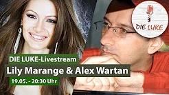 Lily Marange & Alex Wartan im LUKE Livestream