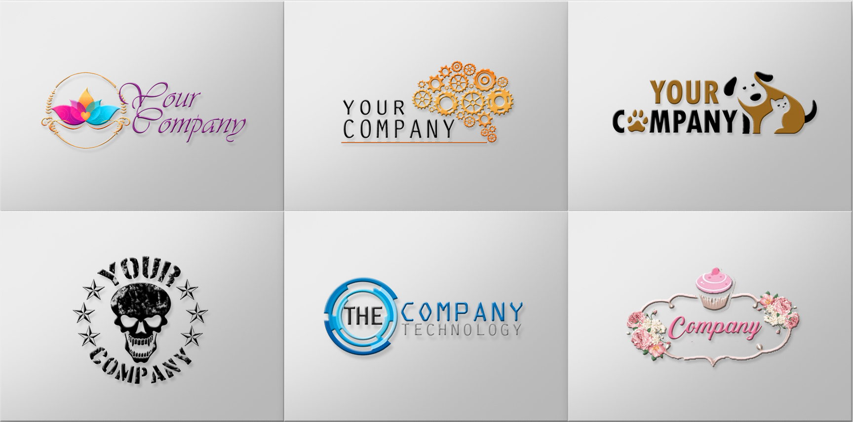 logo examples for businesses