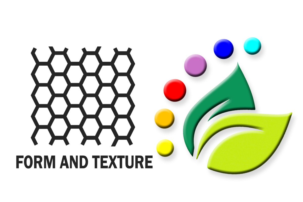 Form and Texture in graphic design
