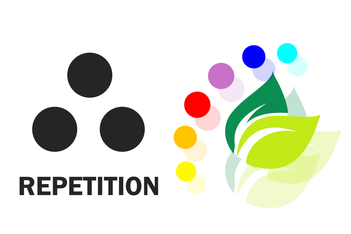 Repetition in graphic design