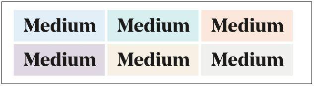 secondary color palette brand profile