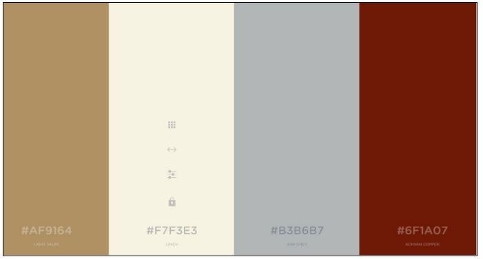 color scheme brand profile