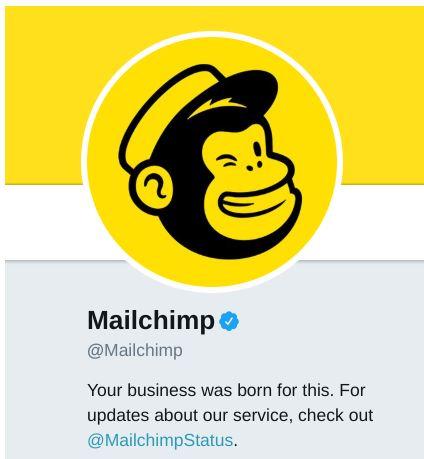 mailchimp twitter brand voice