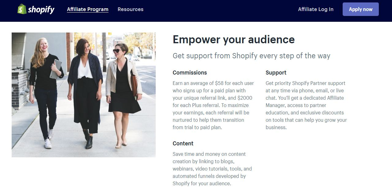 how to monetize your blog shopify affiliate marketing