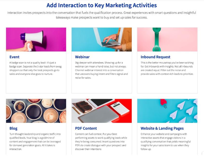 snapapp Interactive content